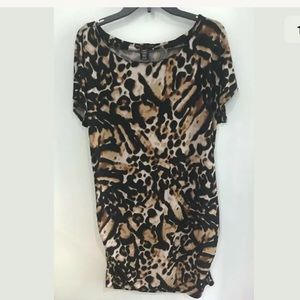 Apostrophe Women's Animal Print Sheath Dress